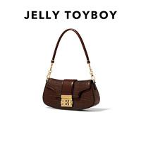 JellyToyboy JTB摇摇包女包2021新款潮真皮斜挎包复古简约原创小众设计腋下包