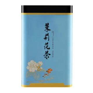 XIANGCHE 香彻 茉莉飘雪浓香型茉莉花茶 茶叶2021新茶飘雪花茶罐装200gQ 双罐400g(送礼袋)