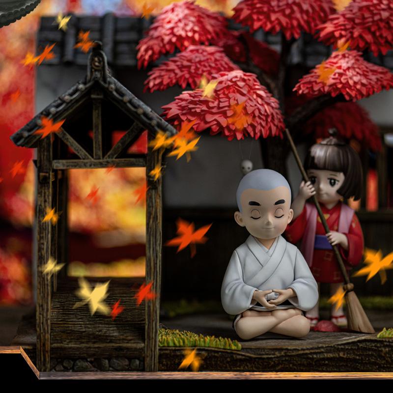 东映 x 光年工作室《聪明的一休》四季版 雕像