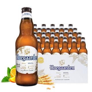 有券的上 : Hoegaarden 福佳 小麦白啤酒 精酿啤酒 330ml*24瓶