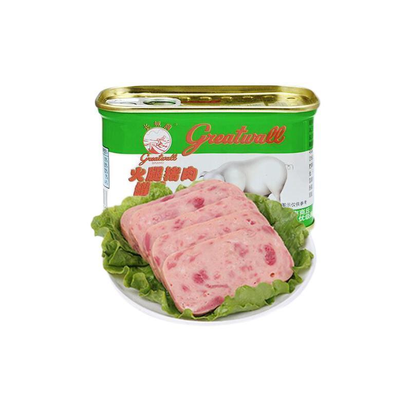 greatwall BRAND 长城牌 火腿猪肉罐头