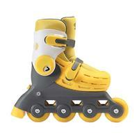 700Kids 柒小佰 小怪兽 儿童轮滑鞋 黄色 S