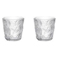 Aglaia/艾格莱雅 冰川纹玻璃杯 250ml 2只