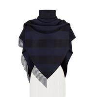 Dior 迪奥 女士羊绒披肩 04CHE101I011_C587 蓝色 140*150*205cm