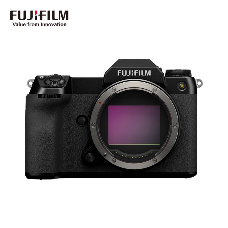 FUJIFILM 富士 GFX 50S II 无反中画幅相机 黑色