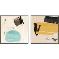 仟象映画 A款 80x80cm 现代抽象客厅原创装饰画