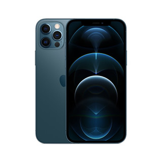 Apple 苹果 iPhone 12 Pro (A2408) 512GB 海蓝色 支持移动联通电信5G 双卡双待手机