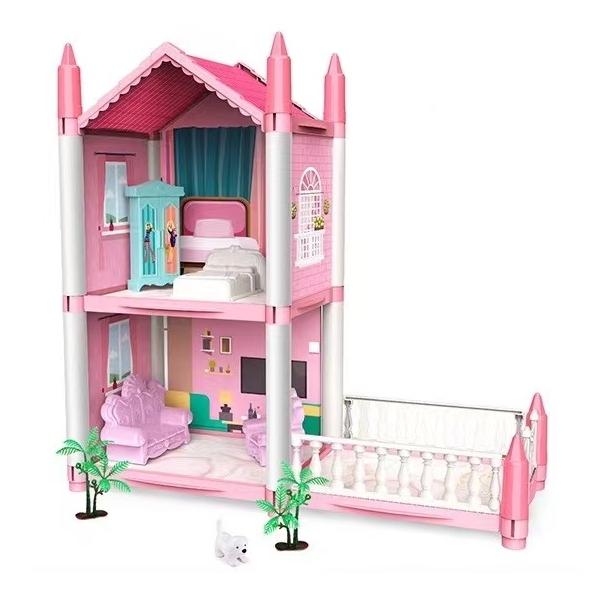 公主城堡娃娃屋