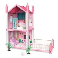 imybao 麦宝创玩 公主城堡娃娃屋