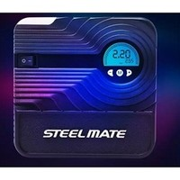 STEELMATE 铁将军 迷你车载数显充气泵 12v