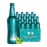 SNOWBEER 雪花 啤酒 8度 马尔斯绿 455ml*12瓶