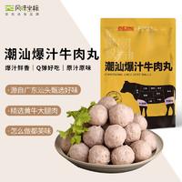 风味坐标 手打潮汕正宗牛肉丸 250g  肉含量约85% 京东出品