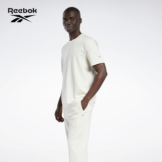 Reebok 锐步 官方男女同款GS9150基础LOGO印花简约舒适经典短袖T恤