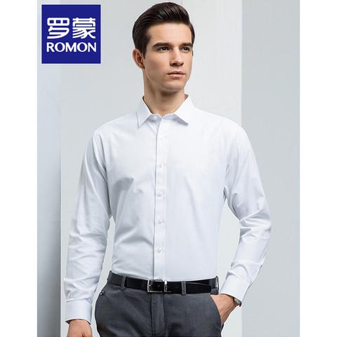 PLUS会员:ROMON 罗蒙 8CS931128A 男士休闲衬衫