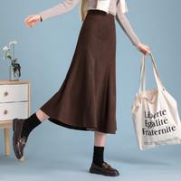 La Chapelle 拉夏贝尔 23049-04HD 女式纯色半身裙