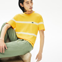 LACOSTE 拉科斯特 TH5065 男士条纹短袖T恤