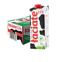 Laciate 全脂纯牛奶 1L*12盒