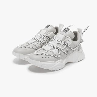 SEPTWOLVES 七匹狼 21年春季新款潮流鞋子复古网面透气运动休闲鞋