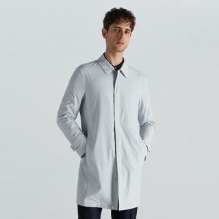 K-BOXING 劲霸男装 劲霸男士风衣秋款商务休闲时尚中长版青年男式夹克大衣外套