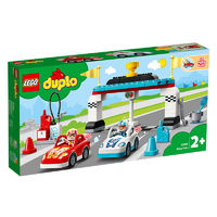 LEGO 乐高 得宝系列 10947 红蓝赛车队