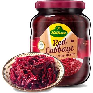 Kühne 冠利 德国进口 开胃西餐厅配菜 冠利红椰菜350g*2件