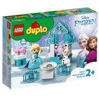 LEGO 乐高 得宝系列 10920 艾莎和雪宝的下午茶