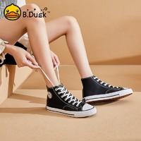 B.Duck 女士高帮休闲鞋 Y113718A