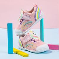 CRTARTU 卡特兔 学步鞋21秋款软底女宝宝鞋子透气卡通婴童鞋女防滑婴儿鞋