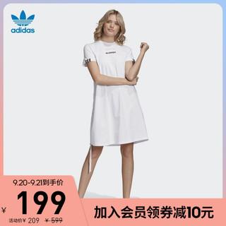 adidas 阿迪达斯 官网adidas 三叶草 女装秋季运动裙子GJ6576 GJ6578