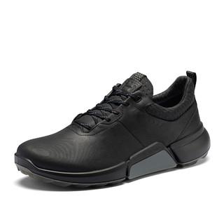 ecco 爱步 2021春季新款休闲小白鞋运动鞋男 高尔夫健步H4 108204