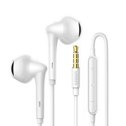 UGREEN 绿联 半入耳式有线耳机 3.5mm