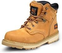 Timberland 添柏岚 PRO Pit Boss 男士 6英寸软趾靴