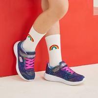 10点开始、补贴购:SKECHERS 斯凯奇 女童厚底魔术贴运动鞋