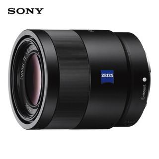 索尼(SONY)Sonnar T* FE 55mm F1.8 ZA全画幅蔡司标准定焦微单相机镜头 E卡口(SEL55F18Z)人像 街拍 风光