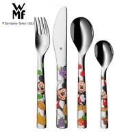 WMF 福腾宝 餐具儿童餐具套装 米老鼠四件套