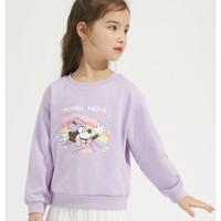 Disney baby 儿童洋气圆领卫衣
