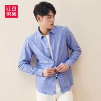Hodo 红豆 男士长袖衬衣