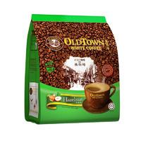 88VIP:OLDTOWN WHITE COFFEE 旧街场白咖啡 榛果味 速溶咖啡粉 38g*15条
