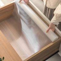聚快 家用EVA半透明橱柜垫 2张(30*150cm)