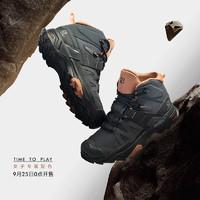 25日0点:salomon 萨洛蒙 X ULTRA 4  MID GTX  L41295600 户外女子徒步鞋