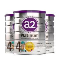 88VIP:a2 艾尔 Platinum白金版 婴幼儿奶粉 4段 900g 3罐装