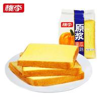 桃李 南瓜原浆纤维面包  600g