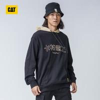 CAT 卡特彼勒 男士撞色连帽系套头卫衣 CI3SWN28451C09