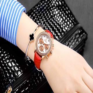 WISHDOIT 威思登 女表手表女学生韩版潮流时尚休闲女士手表皮带防水石英表