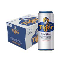 88VIP:TIGER 虎牌 晶纯拉罐啤酒 500ml*12罐