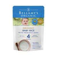 88VIP、限新客:BELLAMY'S 贝拉米 有机婴儿益生元高铁米粉 125g