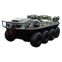 巨浪 防汛救援应急装备西贝虎水陆两栖全地形车XBH-8×8-2A