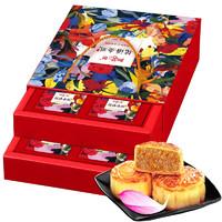 阳茗一世 8味8饼双层礼盒 花语金礼A款 800g