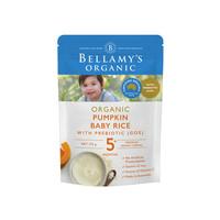 88VIP、限新客:BELLAMY'S 贝拉米 有机婴儿南瓜益生元米粉 125g