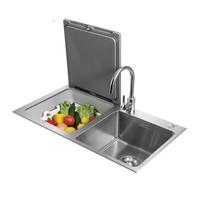 FOTILE 方太 JPSD2T-CJ03L 嵌入式洗碗机 8套 黑色